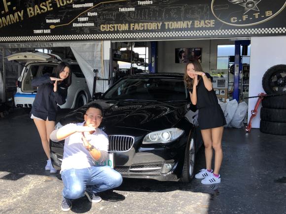 9月4日(火)TOMMYBASE スタッフブログ ☆T様BMW納車☆_b0127002_12215806.jpg