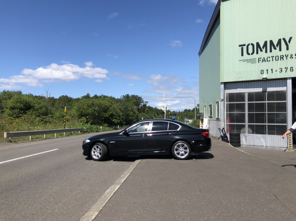 9月4日(火)TOMMYBASE スタッフブログ ☆T様BMW納車☆_b0127002_12320229.jpg