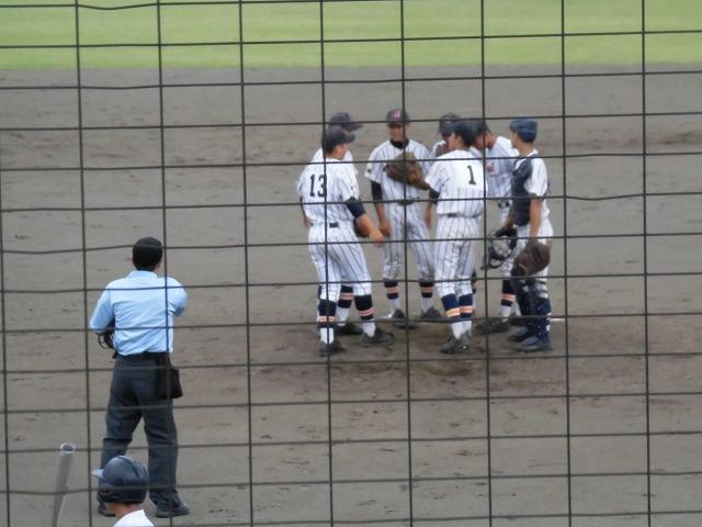 東部5位で富士市立高校野球部が、秋の県大会出場決定! in裾野球場_f0141310_07165102.jpg