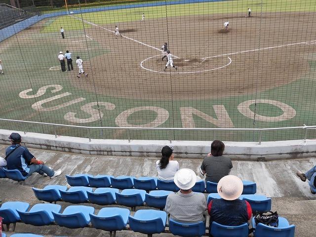 東部5位で富士市立高校野球部が、秋の県大会出場決定! in裾野球場_f0141310_07165747.jpg