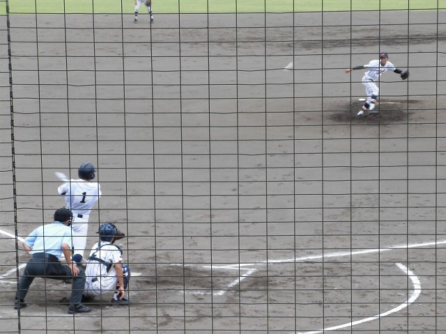 東部5位で富士市立高校野球部が、秋の県大会出場決定! in裾野球場_f0141310_07171286.jpg
