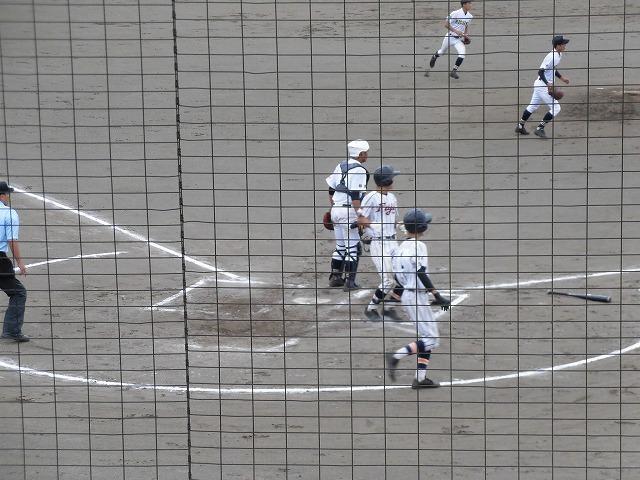 東部5位で富士市立高校野球部が、秋の県大会出場決定! in裾野球場_f0141310_07174524.jpg