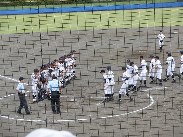 東部5位で富士市立高校野球部が、秋の県大会出場決定! in裾野球場_f0141310_07182940.jpg