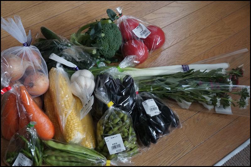 新鮮な野菜と野の花_b0019313_17170310.jpg