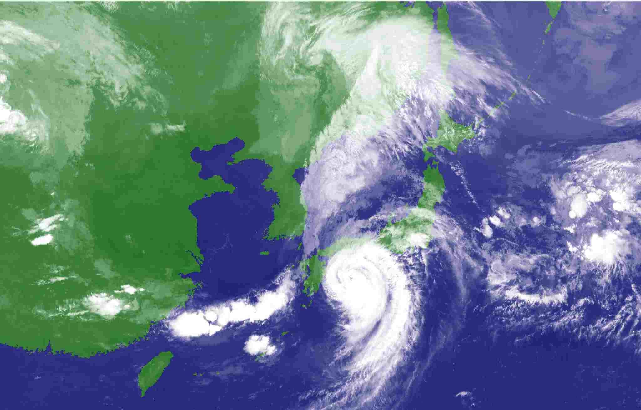 台風に翻弄された一日_c0025115_21410935.jpg