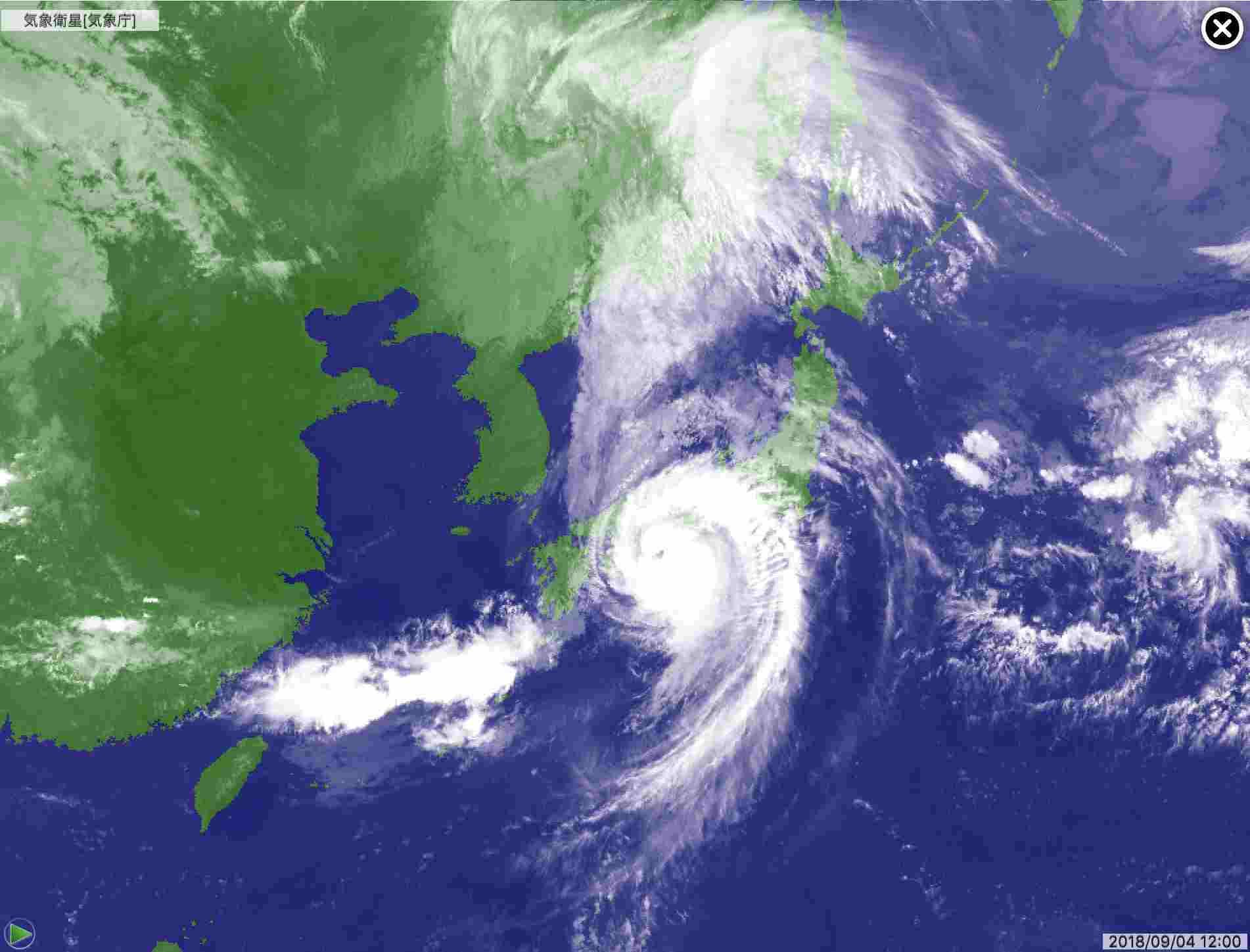 台風に翻弄された一日_c0025115_21432774.jpg