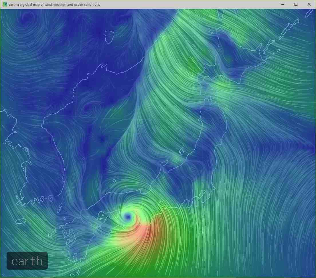 台風に翻弄された一日_c0025115_21453758.jpg