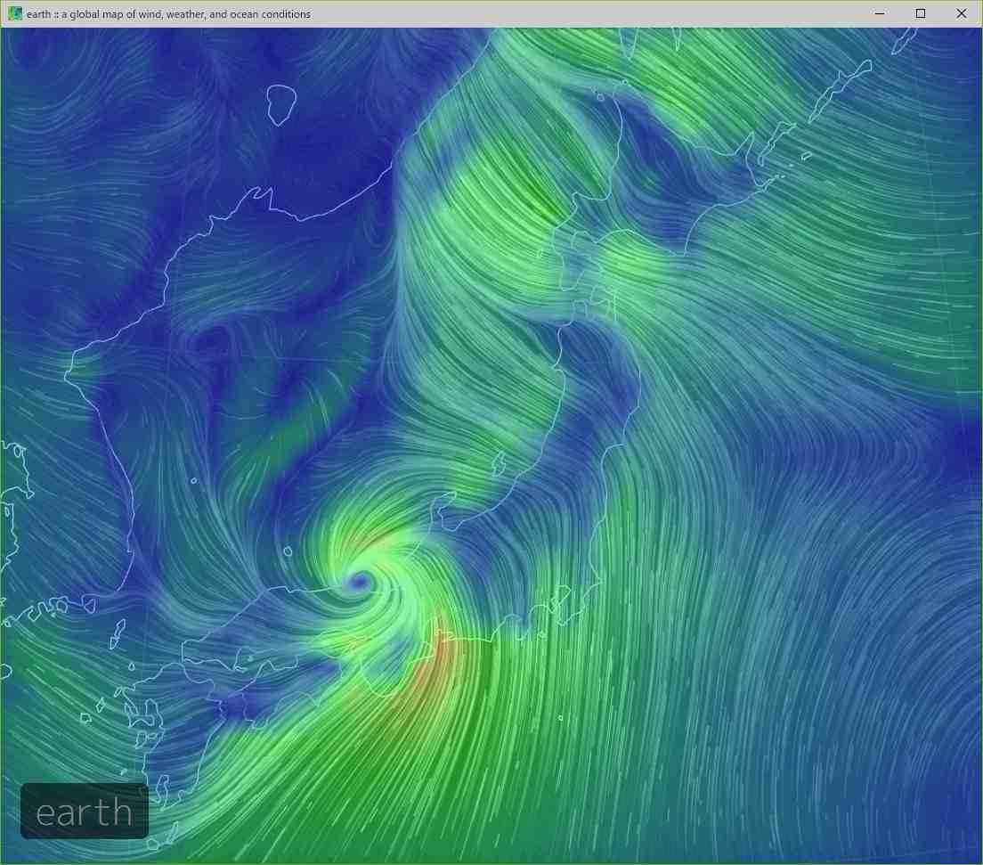 台風に翻弄された一日_c0025115_21454295.jpg