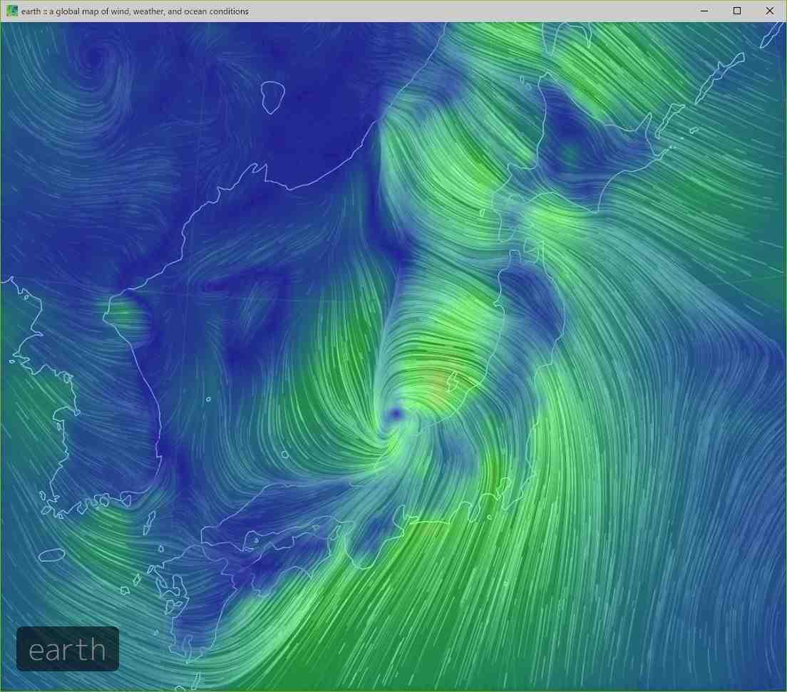 台風に翻弄された一日_c0025115_21454676.jpg