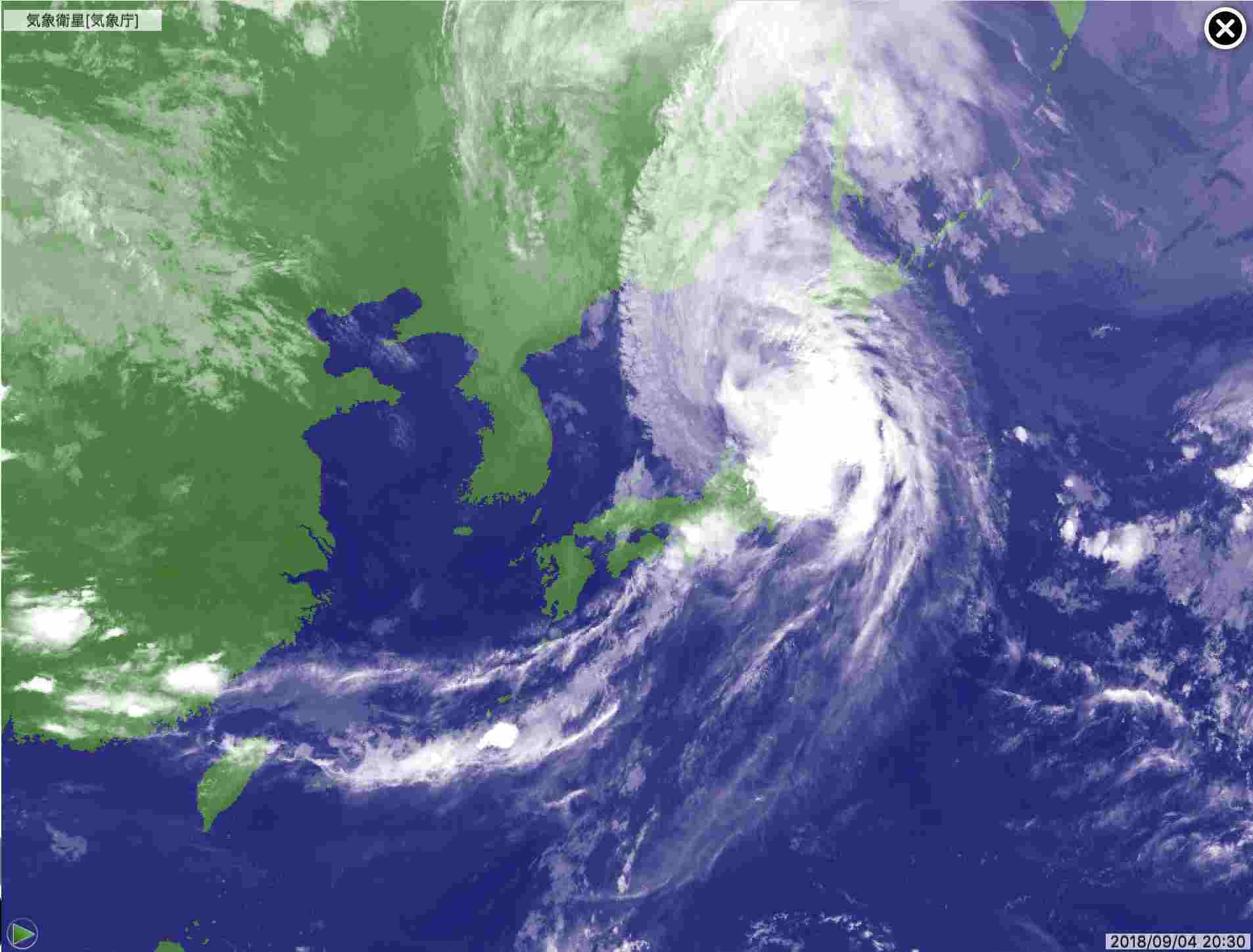 台風に翻弄された一日_c0025115_21511910.jpg