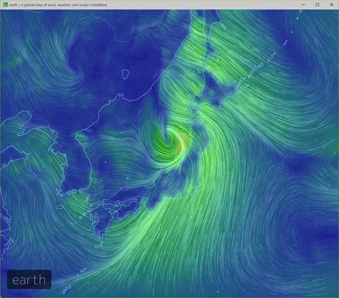台風に翻弄された一日_c0025115_21551710.jpg