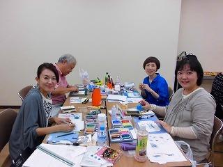 『和(NAGOMI)アート1dayスクーリング』レポート など_c0200917_01304797.jpg