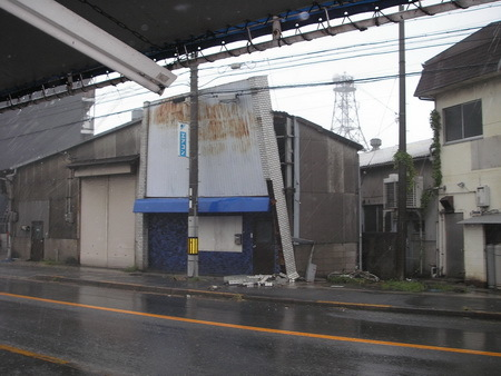 台風接近 _e0218639_14595961.jpg