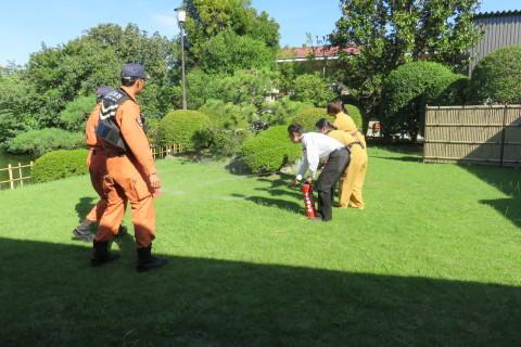 消防訓練(´-`).。oO_a0217348_09530713.jpg