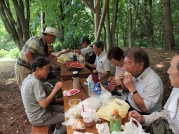 7月25日壮年会主催のピクニック_b0332673_08303126.jpg