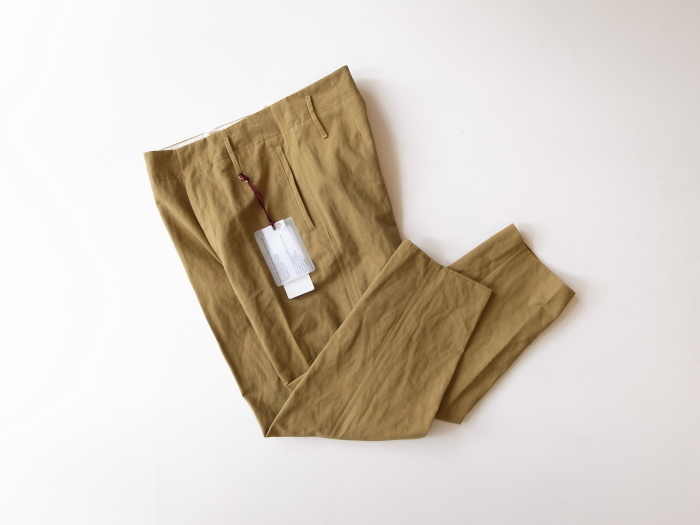 FORTE_FORTE COTTON TROUSERS_f0111683_12291261.jpg