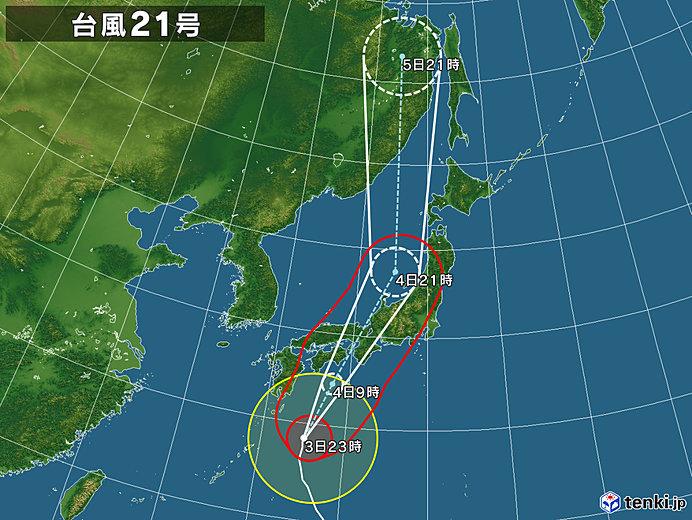 台風21号接近中_b0233987_00571850.jpg