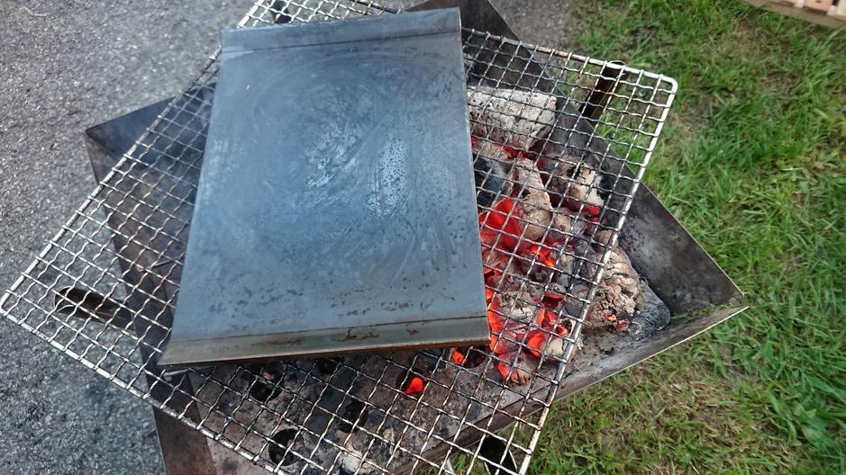 味覚の秋キャンプで野外鉄板!!_d0198793_18581020.jpg