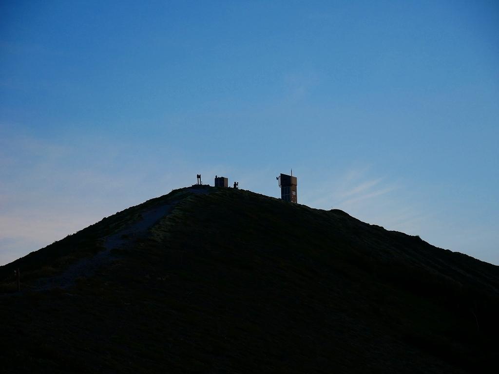 樽前山からの夕日、2018.9.2_f0138096_16230887.jpg