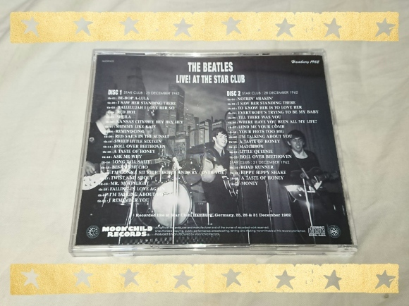 THE BEATLES / LIVE AT THE STAR CLUB_b0042308_12405191.jpg