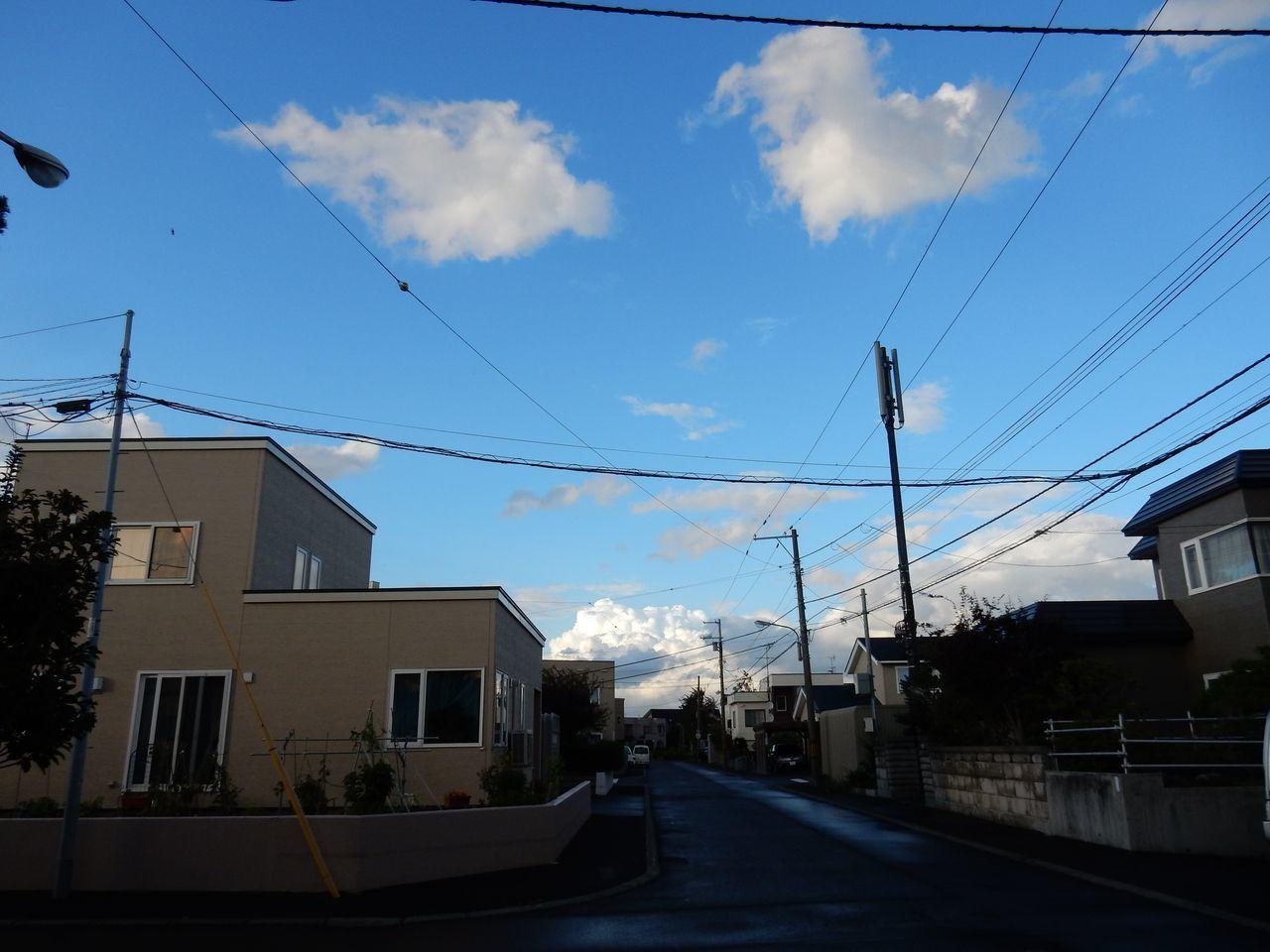 午後遅くなってからようやく「台風一過」の雰囲気に_c0025115_22525526.jpg