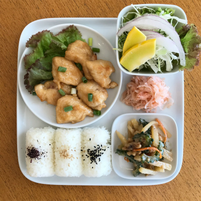 鶏のマヨポン酢炒め_b0102217_16085526.jpg
