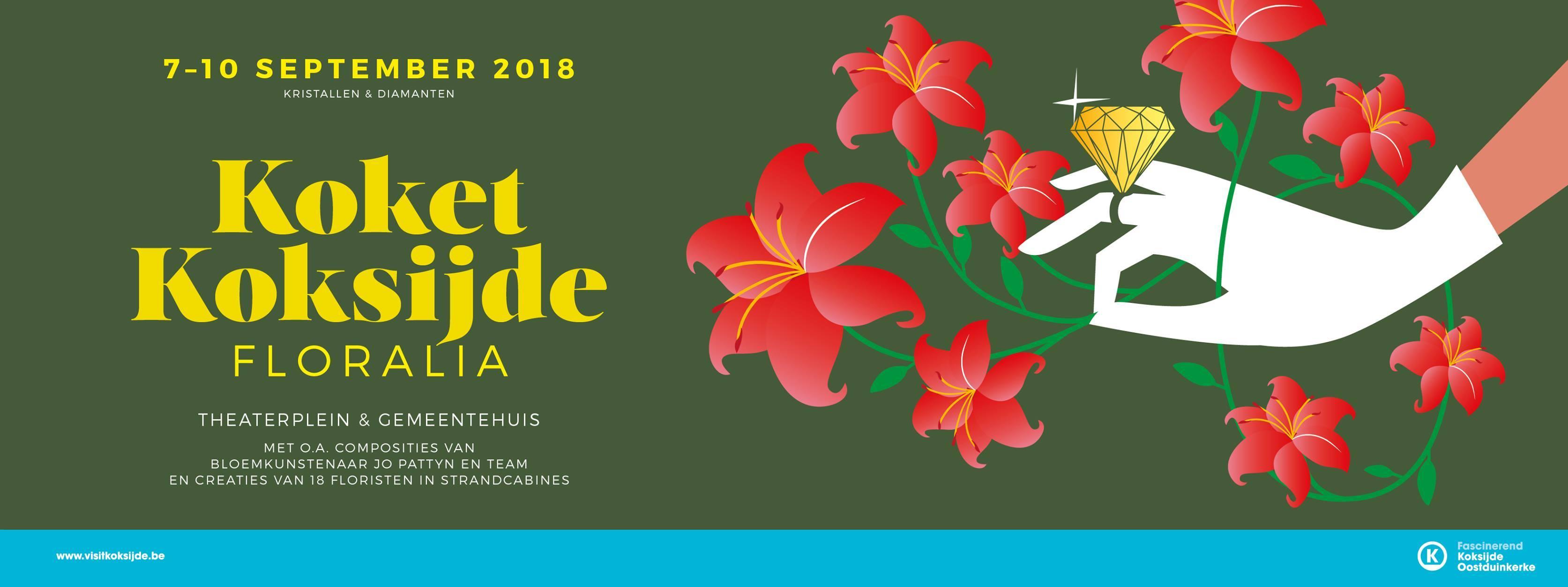 北海の街 Koksijdeでのお花の展示会、KOKETのご案内。_d0355818_18262910.jpg