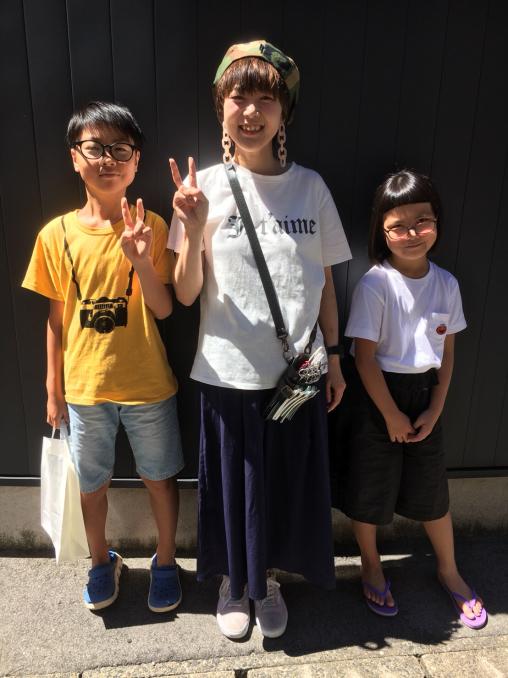 Voiceに姪っ子と甥っ子が来店。_e0062921_19295849.jpg