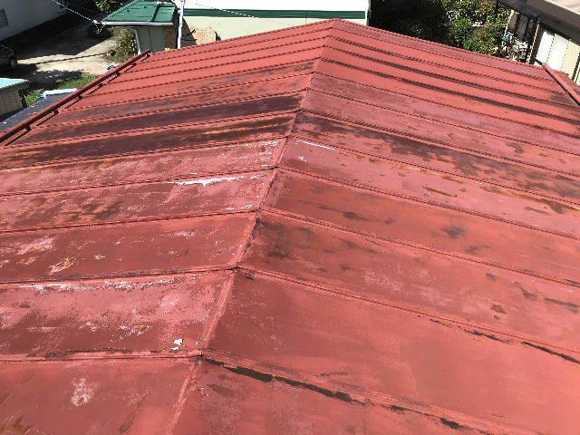 屋根塗装 初日高圧洗浄_f0031037_19380432.jpg