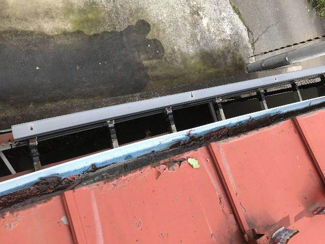 屋根塗装 初日高圧洗浄_f0031037_19402047.jpg