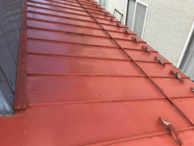 屋根塗装 初日高圧洗浄_f0031037_19402840.jpg