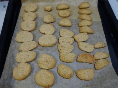 テキト~砂糖なし酒粕クッキー作り_c0330749_18552758.jpg
