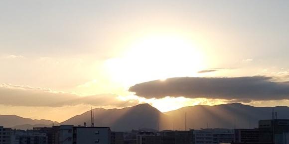 博多の朝焼け🌅_b0356852_06542045.jpg