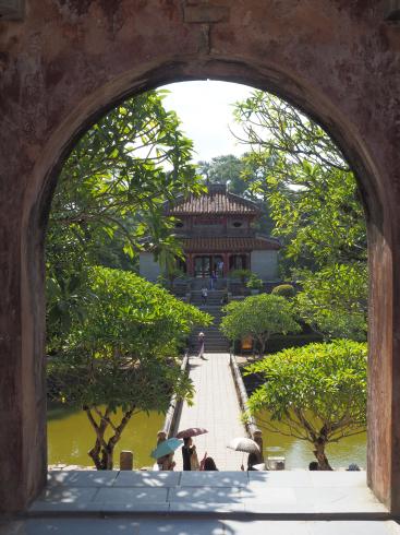 ベトナム フエのミンマン帝陵_c0177863_14174478.jpg