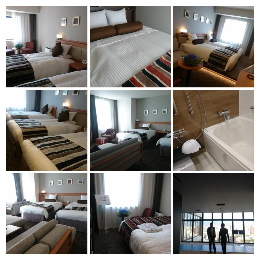 函館国際ホテル内覧会、スタイリッシュな客室、眺めが良い大浴場_b0106766_16412909.jpg