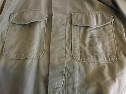 USMC P-53 Cotton Sateen Utility Shirts_c0226387_16462084.jpeg