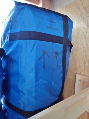 台風が過ぎ去り「常設テント」を再設置しました_c0336902_19565020.jpg