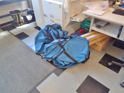 台風が過ぎ去り「常設テント」を再設置しました_c0336902_19565390.jpg