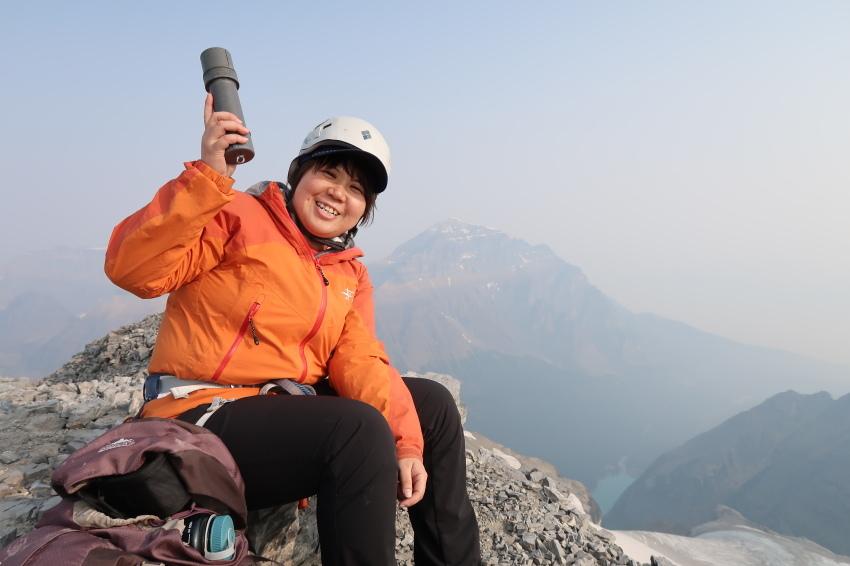 憧れの頂へ、モレーンレイクから、テンピークス登頂。_d0112928_02471653.jpg
