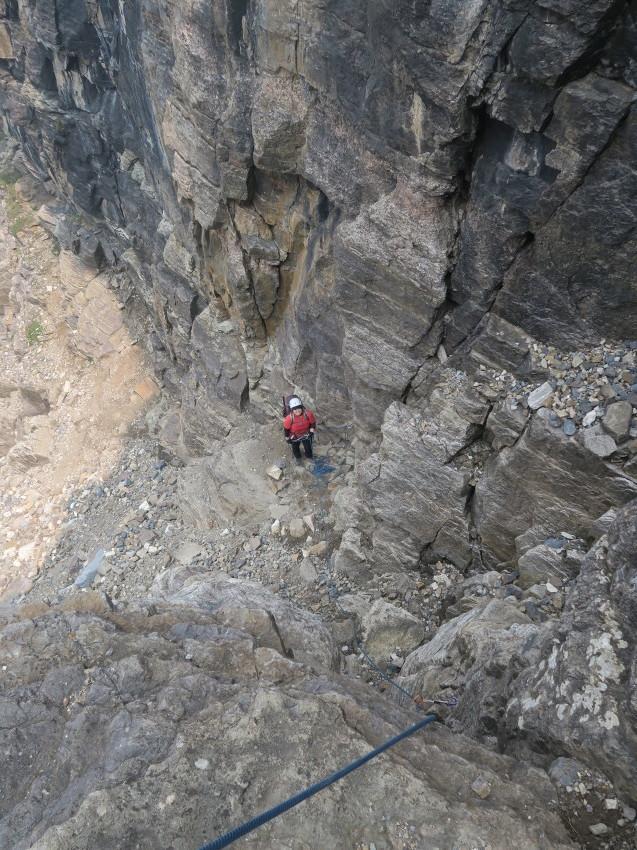 憧れの頂へ、モレーンレイクから、テンピークス登頂。_d0112928_02474335.jpg