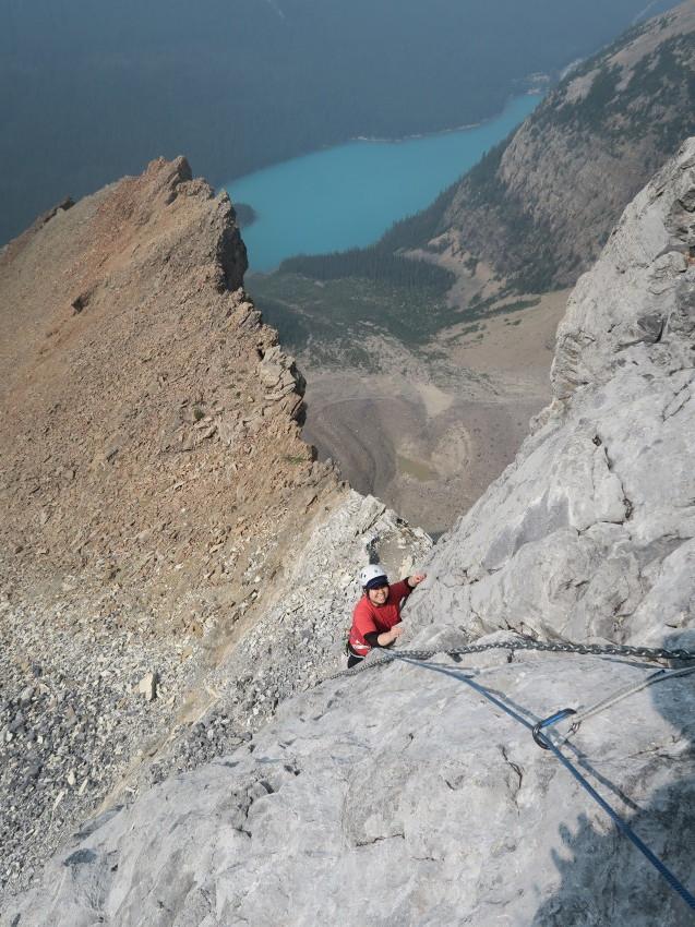 憧れの頂へ、モレーンレイクから、テンピークス登頂。_d0112928_02475753.jpg