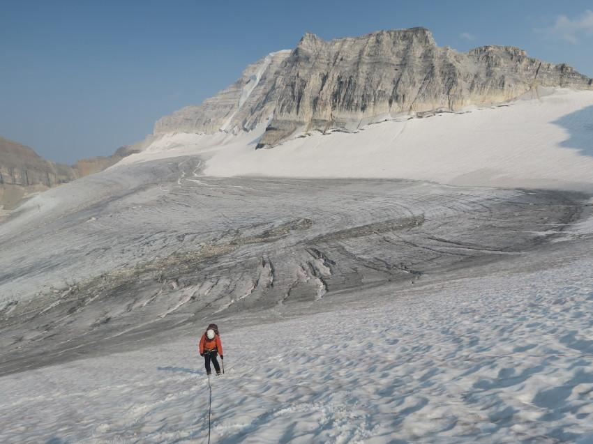 憧れの頂へ、モレーンレイクから、テンピークス登頂。_d0112928_02504365.jpg