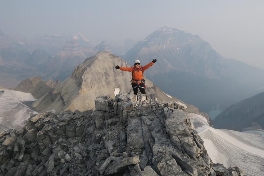 憧れの頂へ、モレーンレイクから、テンピークス登頂。_d0112928_02505563.jpg