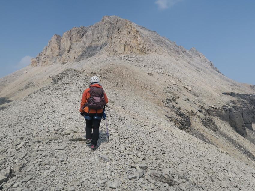 憧れの頂へ、モレーンレイクから、テンピークス登頂。_d0112928_02524841.jpg