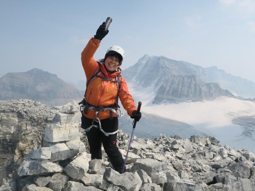 憧れの頂へ、モレーンレイクから、テンピークス登頂。_d0112928_02525835.jpg