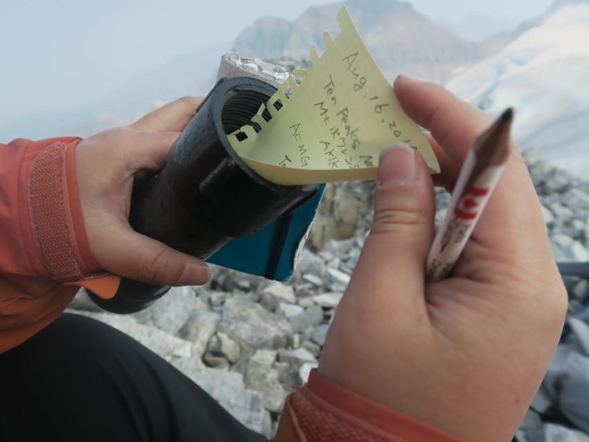 憧れの頂へ、モレーンレイクから、テンピークス登頂。_d0112928_02532044.jpg