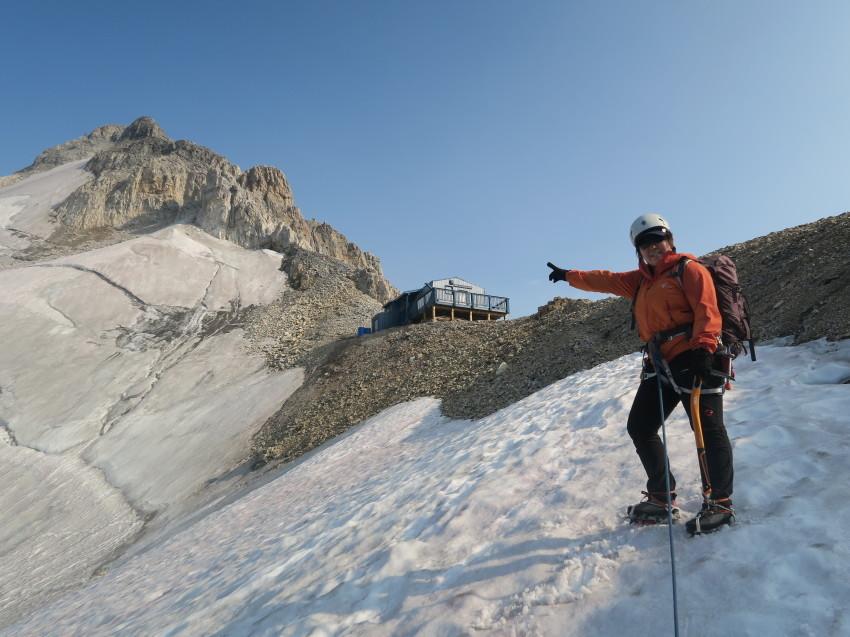 憧れの頂へ、モレーンレイクから、テンピークス登頂。_d0112928_03035895.jpg