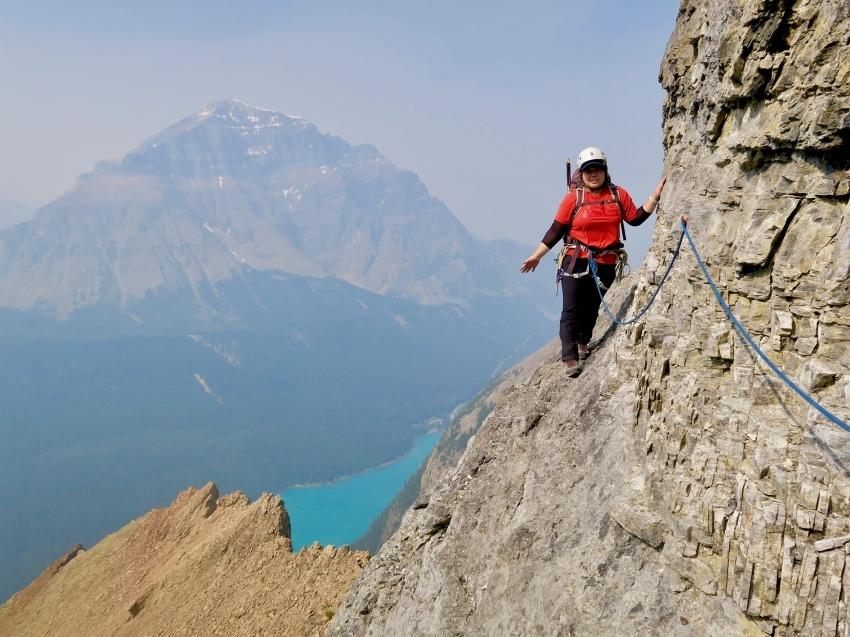 憧れの頂へ、モレーンレイクから、テンピークス登頂。_d0112928_03060926.jpeg