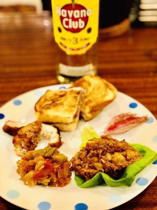 銀座で1日限定キューバ家庭料理と誕生日祝い _a0103940_05342194.jpeg