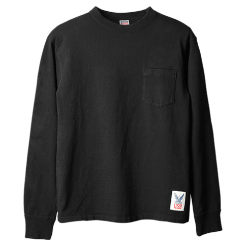 Standard California Made in USA Heavyweight Pocket Long Sleeve T delivery!!_f0020773_18583736.png